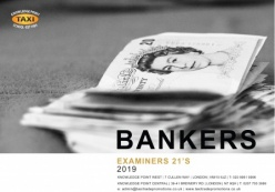 Examiner's Bankers 21's Book for 2019