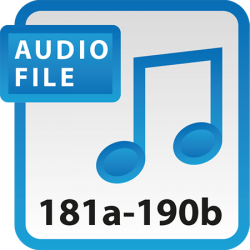 Blue Book Audio Download Files 181a-190b