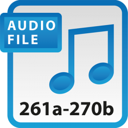 Blue Book Audio Download Files 261a-270b