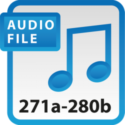 Blue Book Audio Download Files 271a-280b