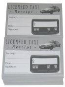 Receipt Pads - Saloon Car Pack Offer