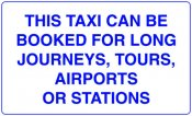 This Taxi Can Be Booked For Long Jouneys, Tours, Airports or Stations