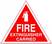 Fire Extinguisher Carried