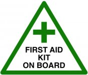 First Aid Kit on Board