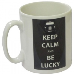 Keep Calm and Be Lucky - Mug