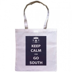 Keep Calm I Do Go South - Tote Shopping Bag