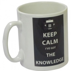 Keep Calm I've Got The Knowledge - Mug