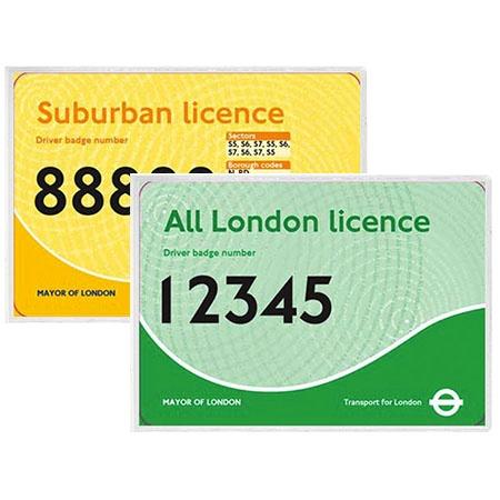 Taxi Identifier Holders