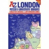 A-Z London Postcode & Administrative Boundaries Map - Folded Paper