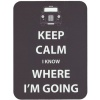Keep Calm I Know Where I'm Going - Mouse Mat