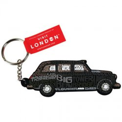 Visit London Black Cab Keyring