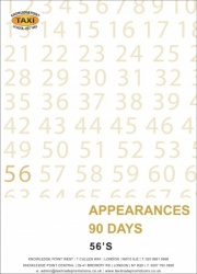 56's Appearances (90 Days)