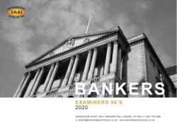 Examiner's Bankers 56's Book for 2020