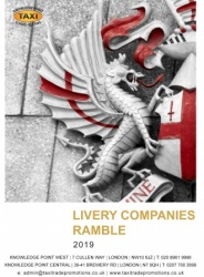 Livery Companies Ramble 2019 Pocket Book