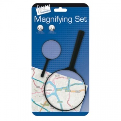 Double Magnifying Glass Set