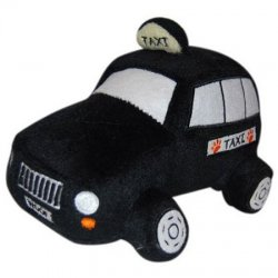 Taxi Doggy Toy