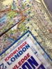 Big London A-Z Street Atlas Laminated Pages
