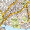 Large London Knowledge Map Laminated